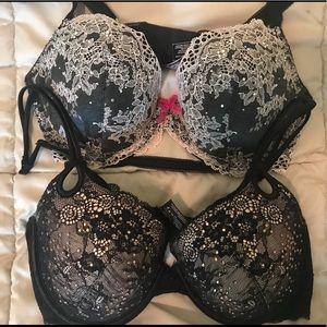 Victoria's Secret Set of 2 Bras 34D